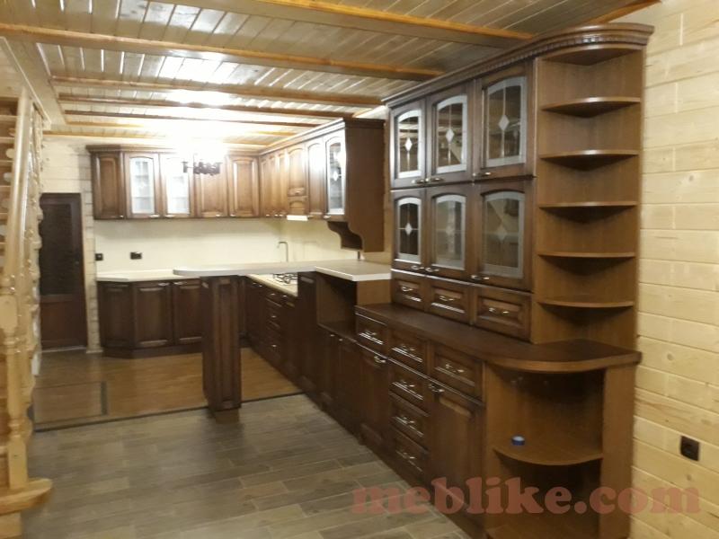 дубова кухня фото