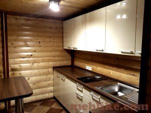 кухонні меблі фарбований мдф