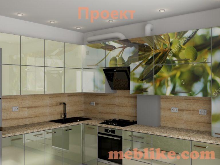 Проект кухні Грушевського2