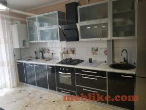 кухні з фасадами лакобель11 фото