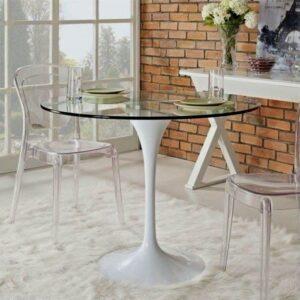 скляний стіл в інтерєрі147