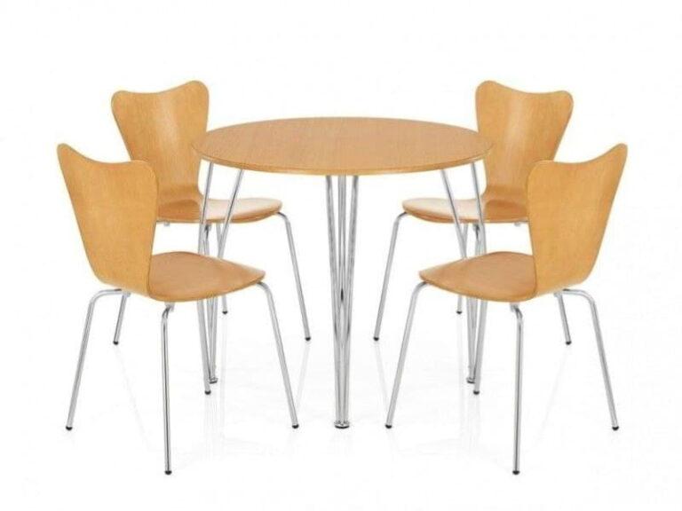 стіл та стільці з мдф999
