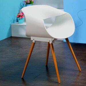 білий стілець66