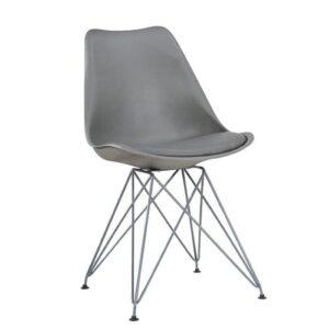 сірий стілець